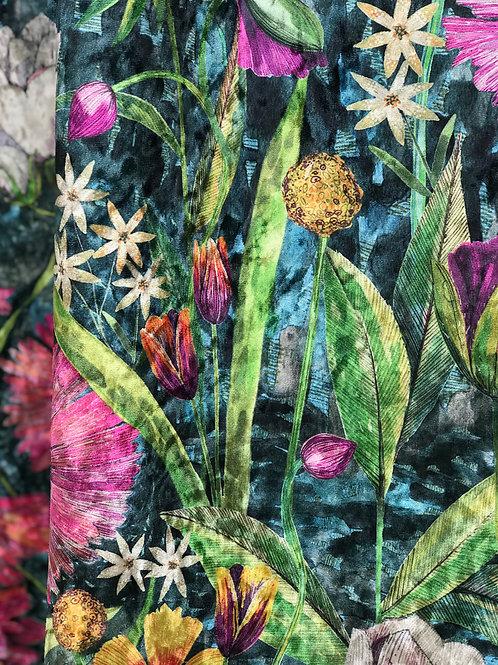 'Midnight Garden' Velvet
