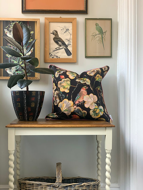 Finch Garden Cushion Cover in Umber