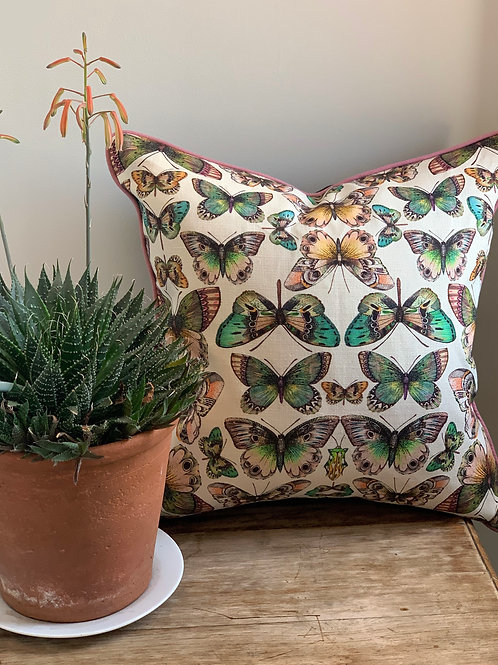 Butterfly Kaleidescope Cushion Cover