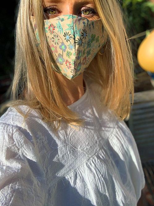 'Summer Daisy' Face Mask