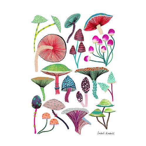 Magic Mushroom Art Print