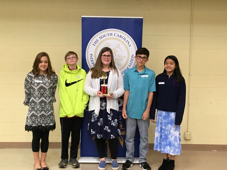 Math Meet Team Wins 3rd Place