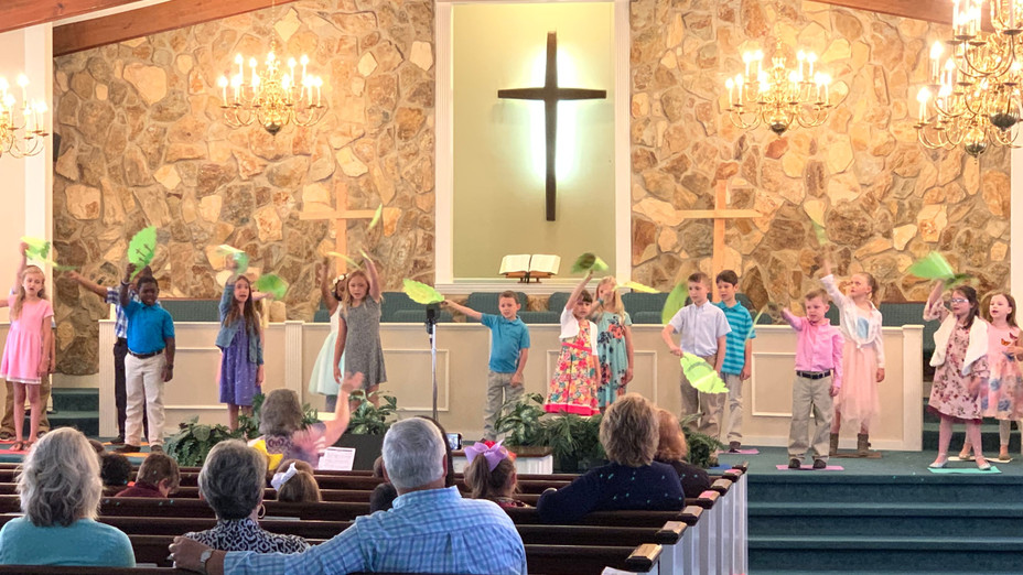 Special Easter Performance by Second Grade