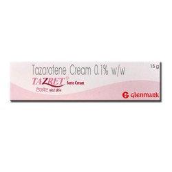 TAZRET / TAZAROTENE 0.1% Cream Acne Treatment