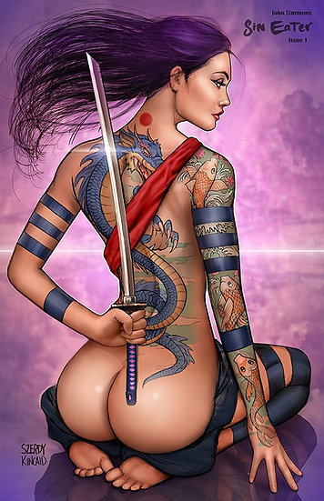 Sin Eater Cover C Risque 11x17 poster