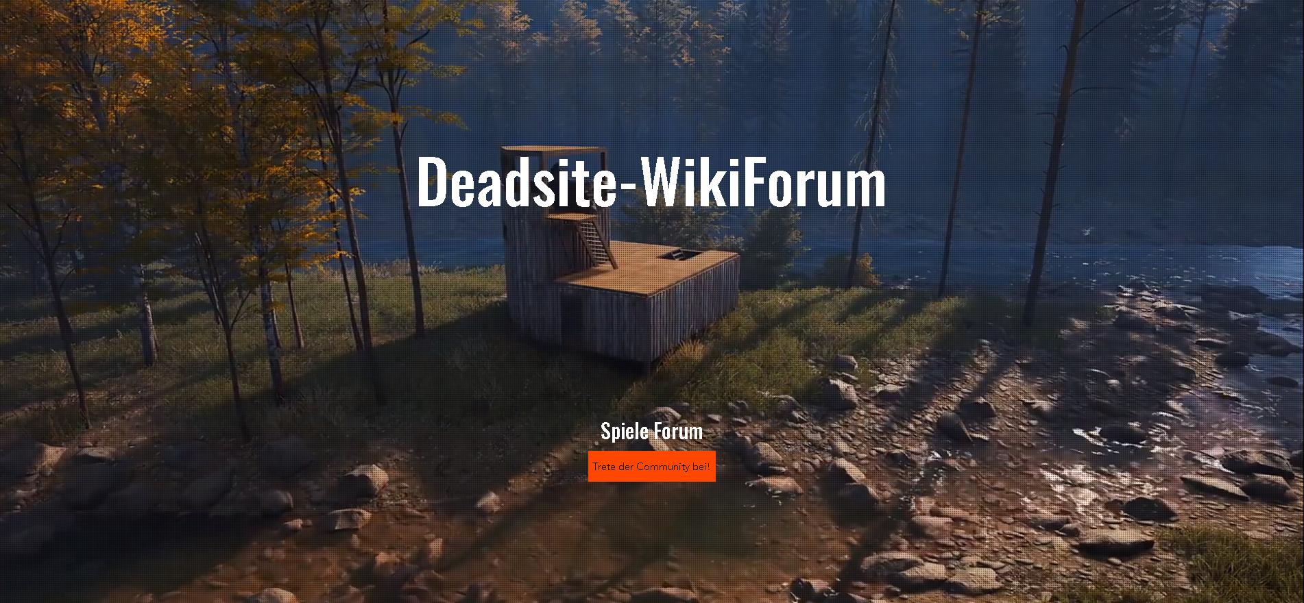 Deadsite-WikiForum: