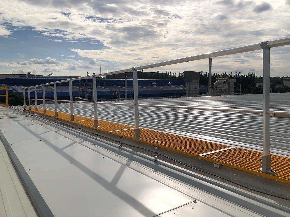 walkway guardrail