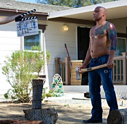 Los Angeles Movie Set Photography