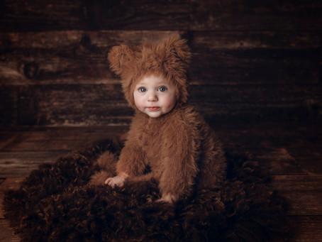 So Beary Cute Ezra!