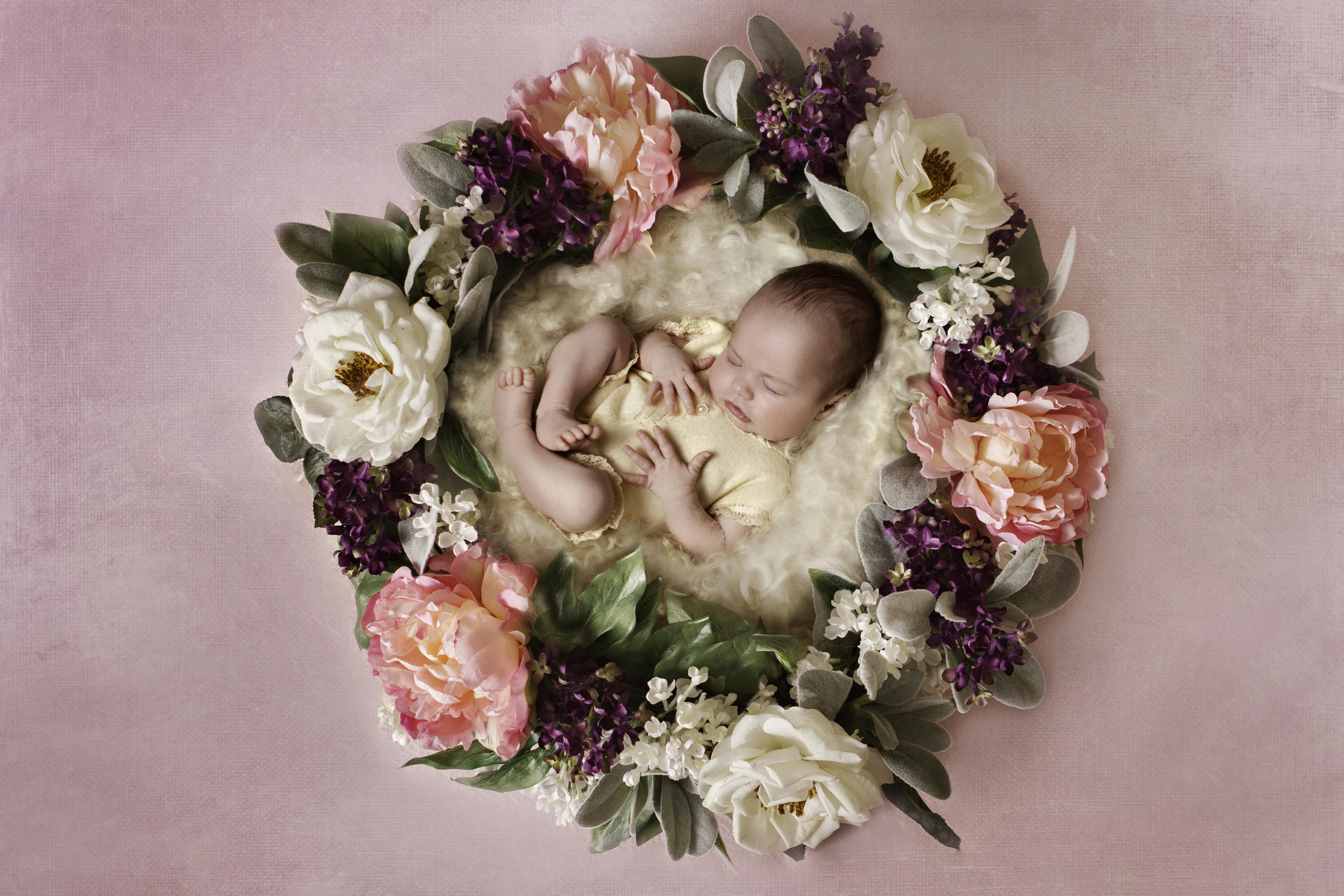 charlotte pink wreath