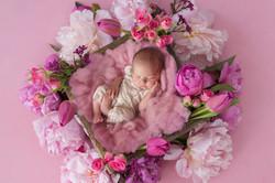Ella pink floral