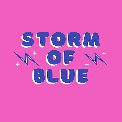 storm of blue