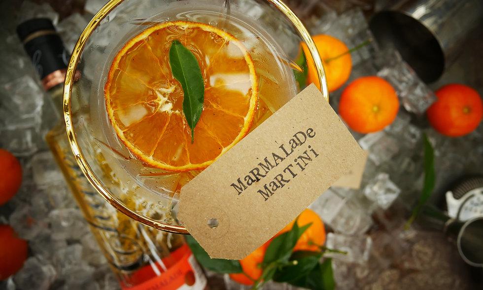 Marmalade 🍊 Martini