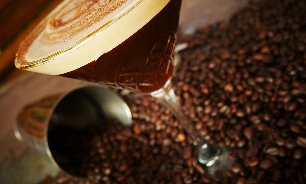 Salted Caramel 🍿 Espresso ☕ Martini