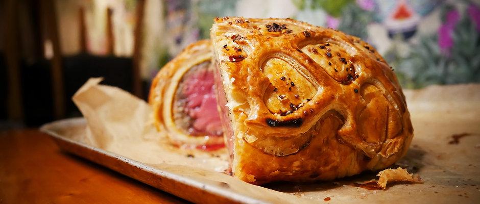 Beef Wellington 💣 Sharer & pud