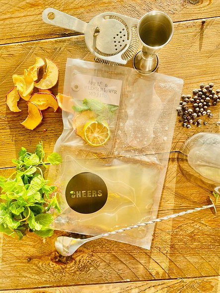 Apple & Elderflower Mojito 🍏