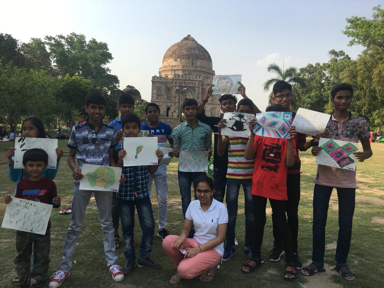 Fun Wagon Delhi Lodhi Art District Trip.