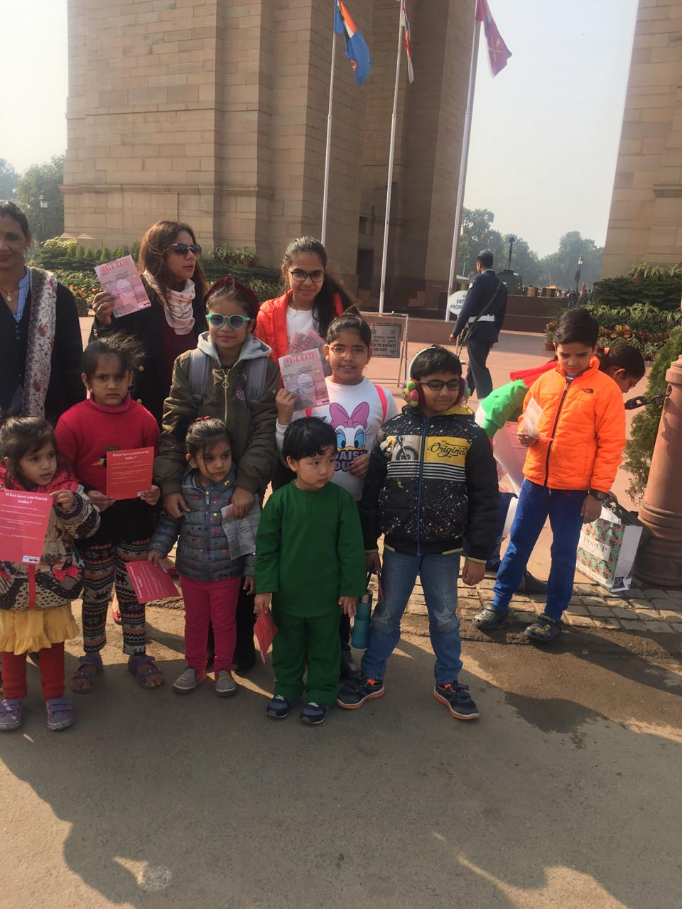 India Gate educational tours for student