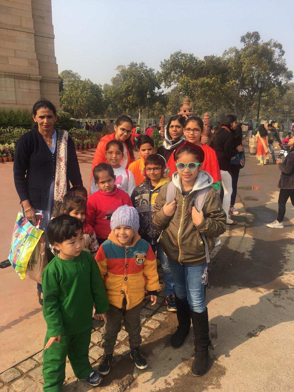 India Gate educational tours with FunWag