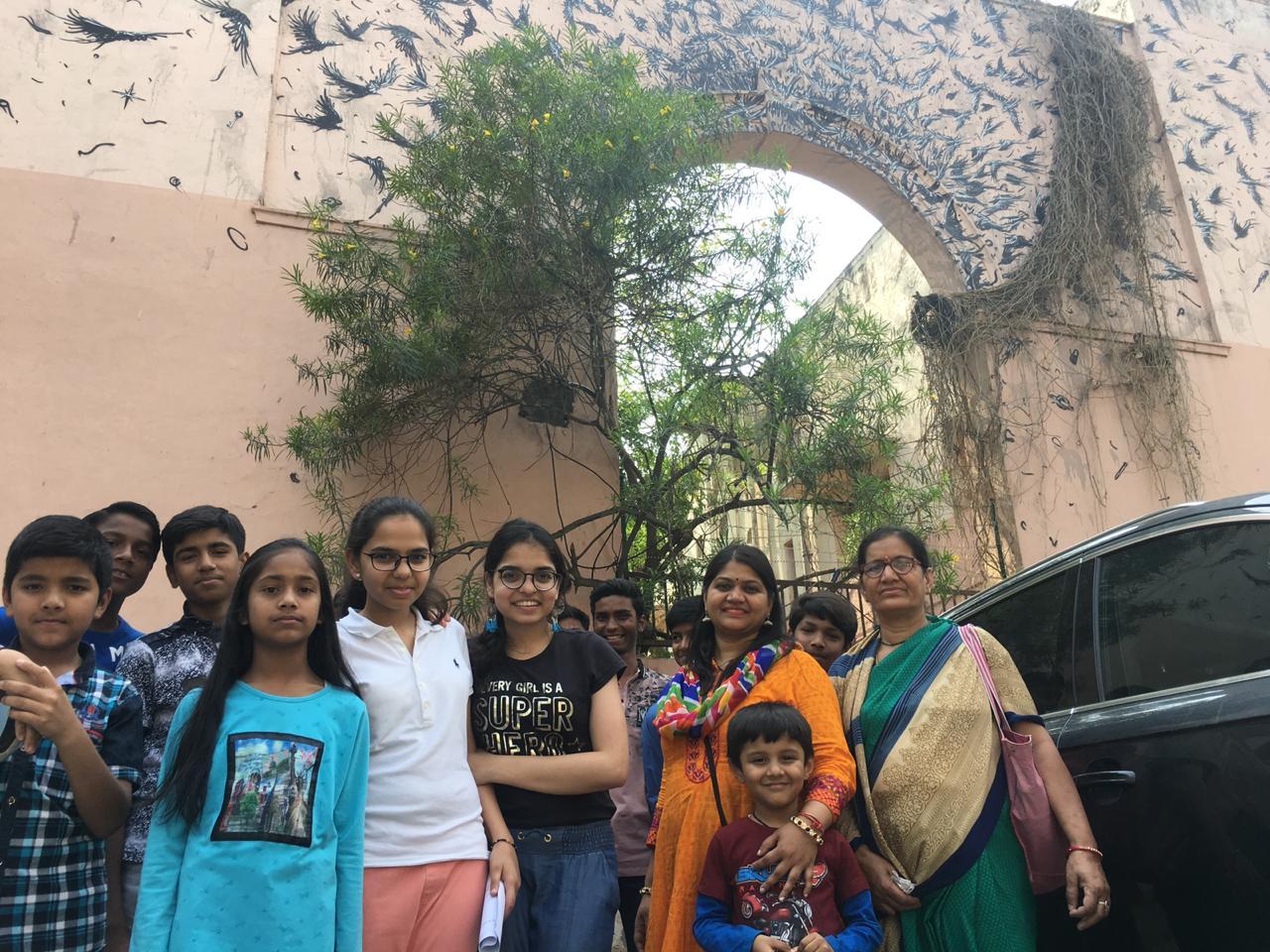 Lodhi Art Tour with Fun Wagon.JPG