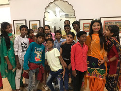 national museum Delhi tour with childs.j