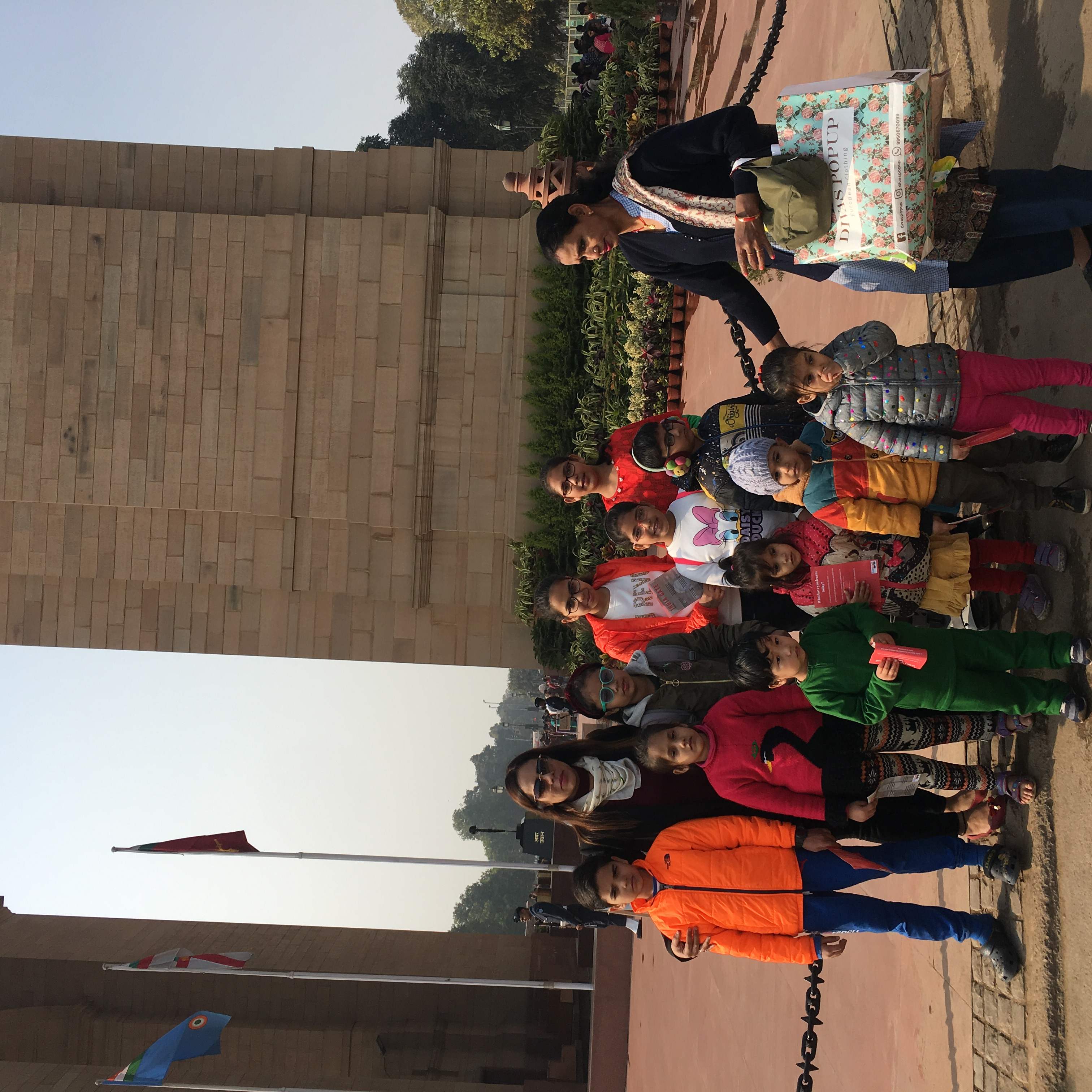 India Gate educational tours for childs.