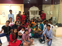 national museum New Delhi tour with chil