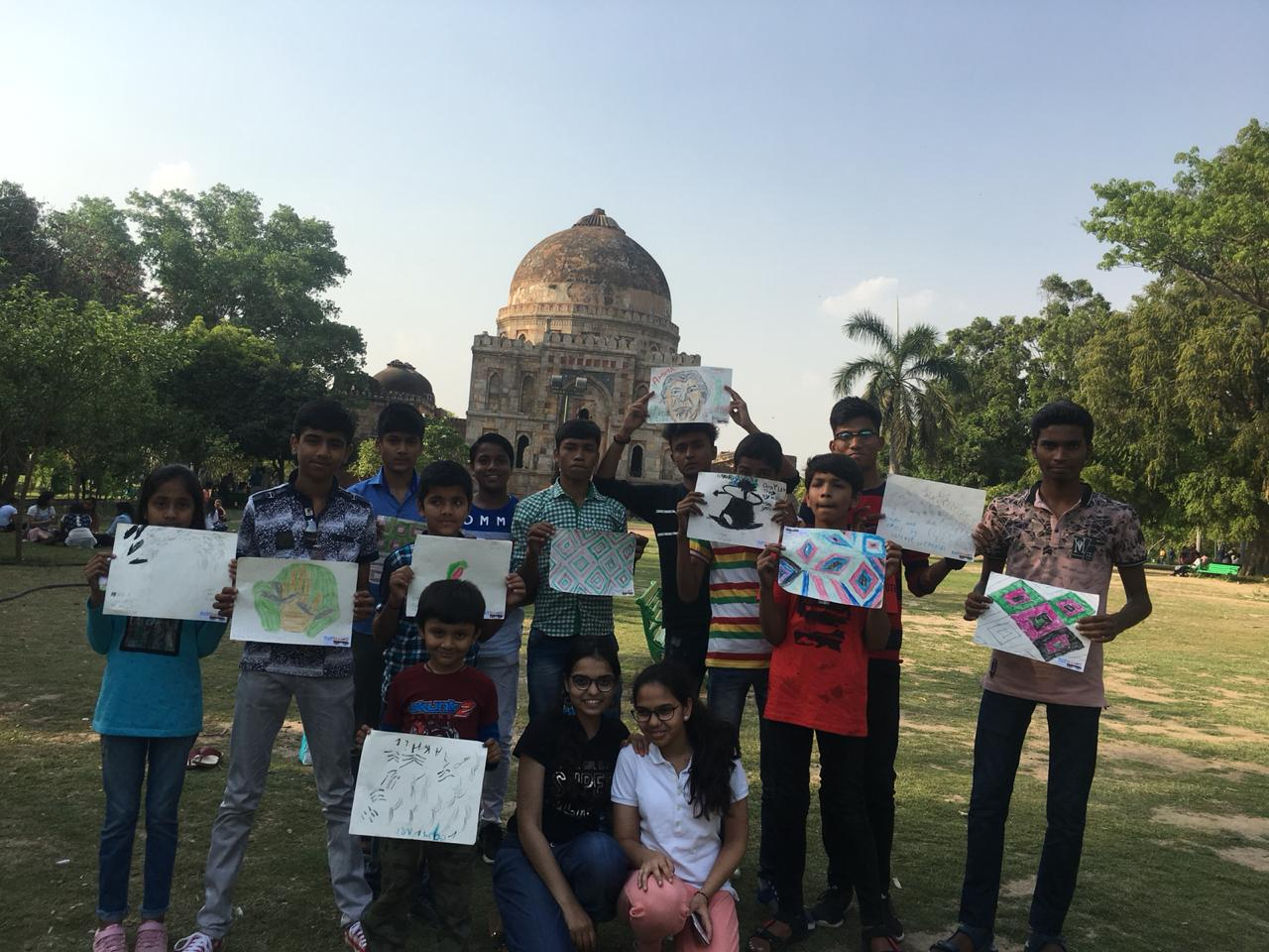 Delhi Lodhi Art Tour with Fun Wagon.JPG
