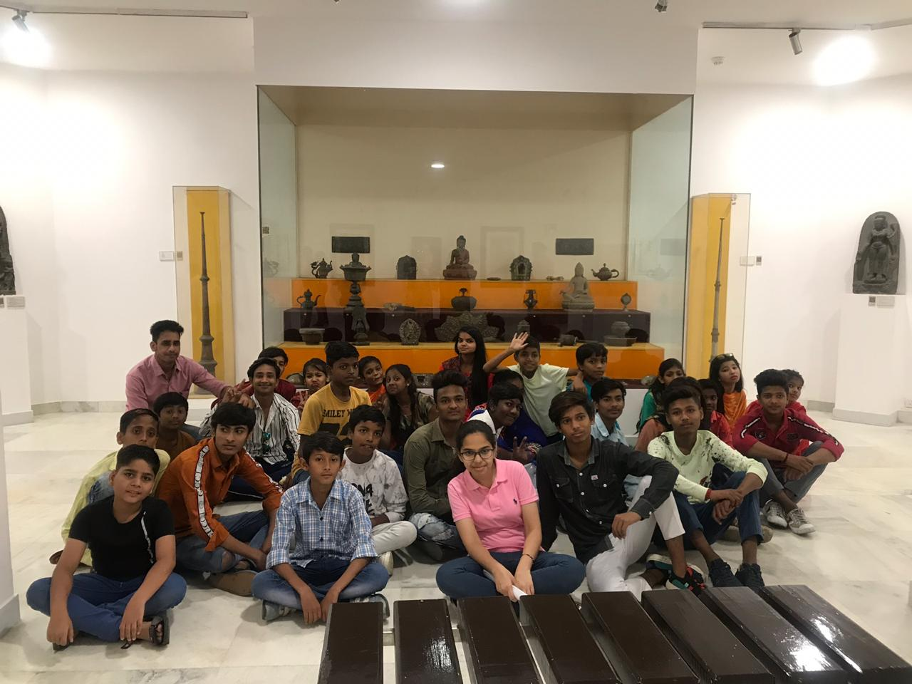 national museum Delhi tour with students