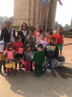 FunWagon India Gate educational tours.jp