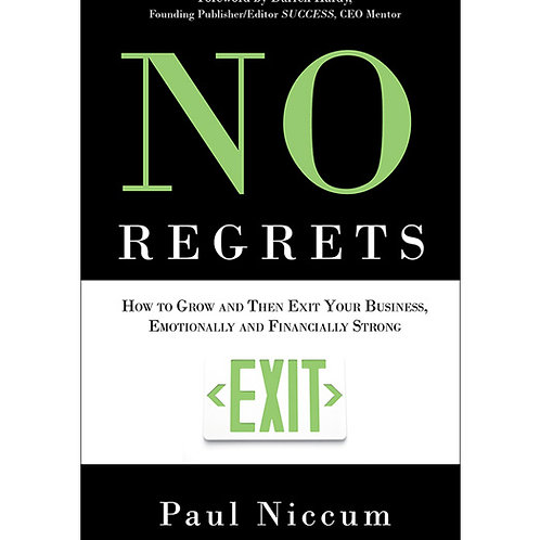 """NO REGRETS""       by Paul Niccum"