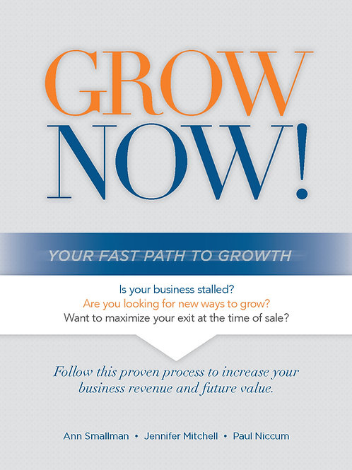 GrowNOW! Your Fast Path To Growth Workbook