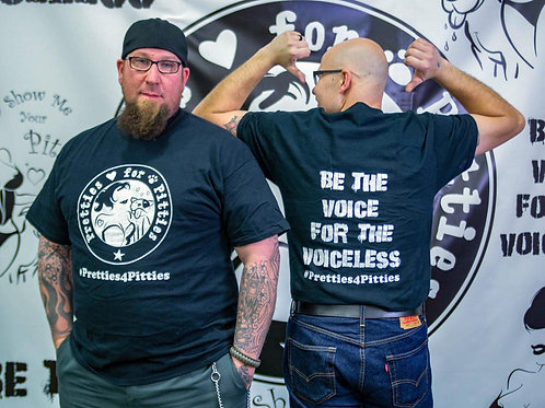 """Pretties for Pitties """"Be the Voice"""" T-shirt"""