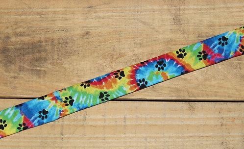 Tye-Dye Paw Prints