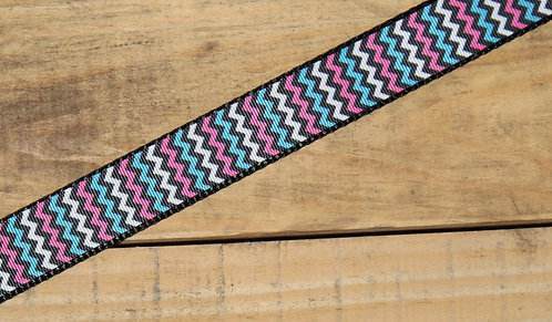 Pink & Teal Chevron