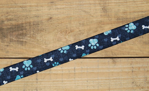Blue Paw Prints