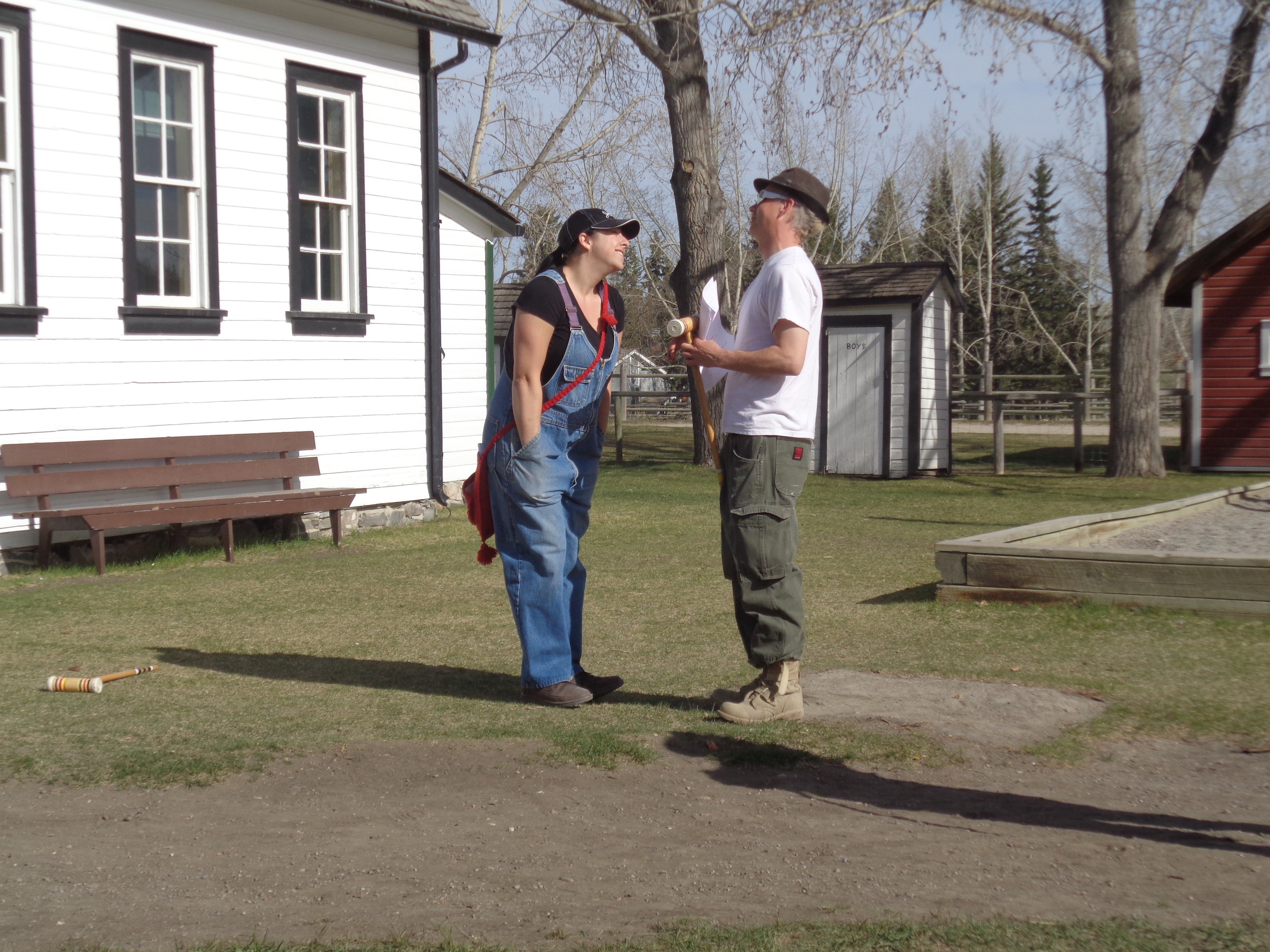 Heritage Park Summer Theatre Troupe Rehearsals