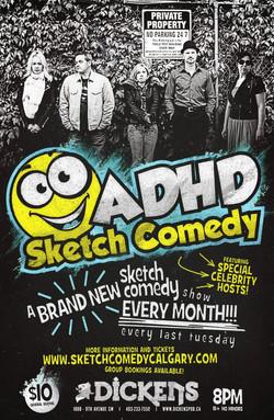 ADHD Sketch Comedy