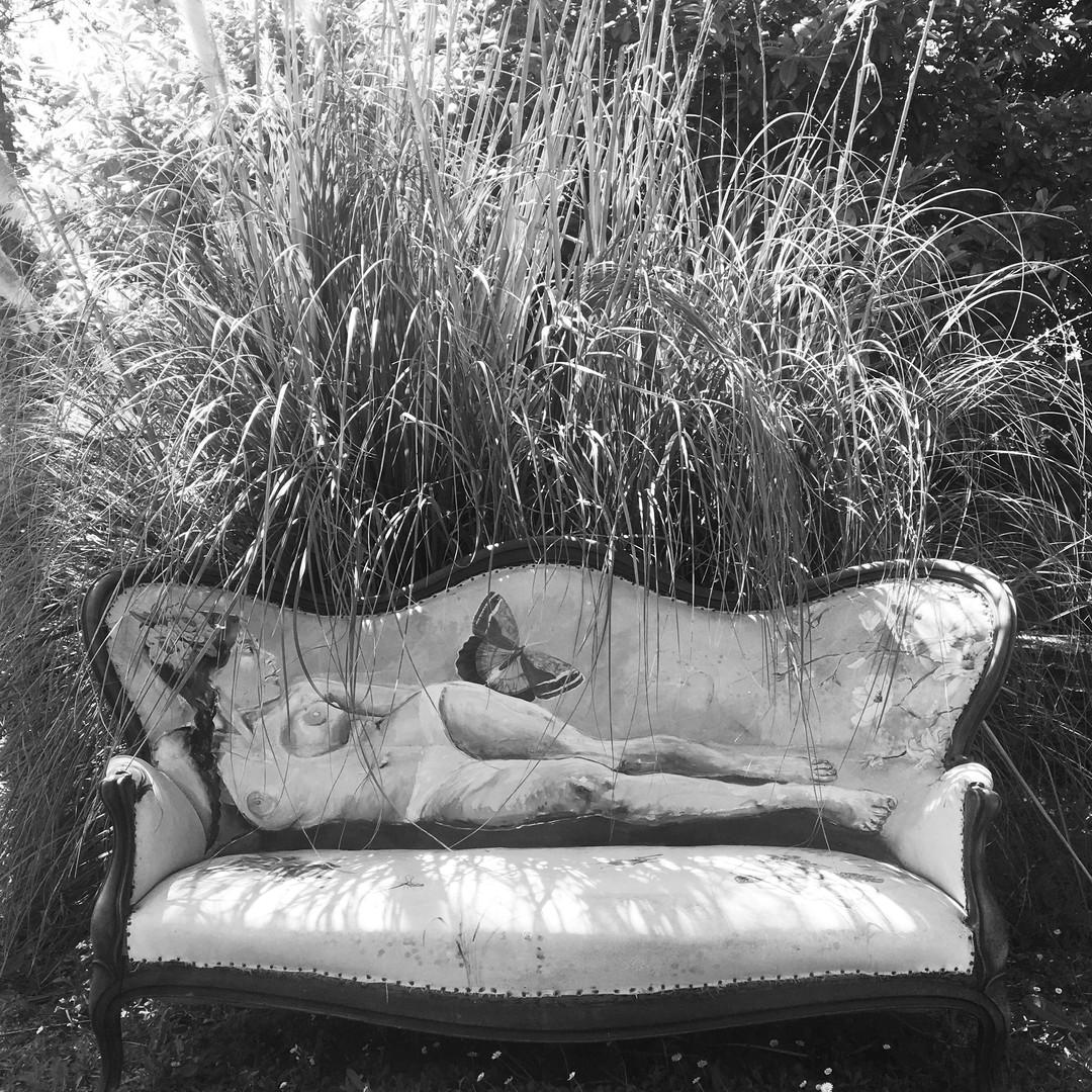 Olympe au jardin