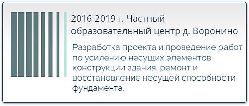 2016-2019 г. Частный образовательный центр д. Воронино