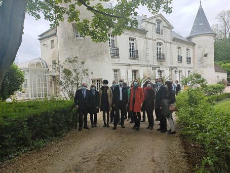 Domaine de Monthyon : une visite guidée avec Valérie Pécresse et Jean-François Copé