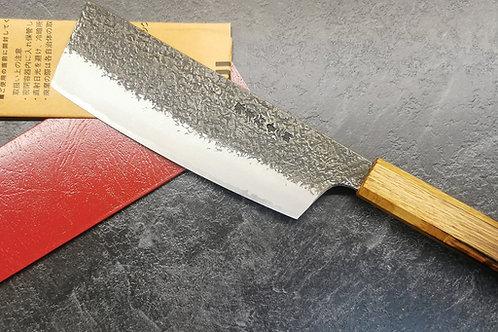 Itsou Doi. Sakai Takayuki 180mm blue steel Nakiri