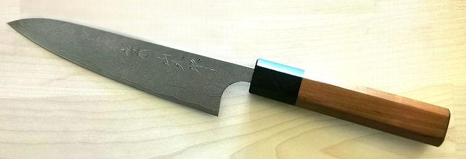 Nao yamamoto 135mm VG10 petty with cherry handle and ebony ferrul