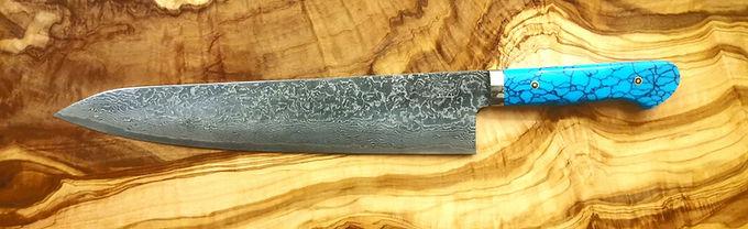 Mr. Itou R-2 Damascus steel 265mm Custom Gyuto