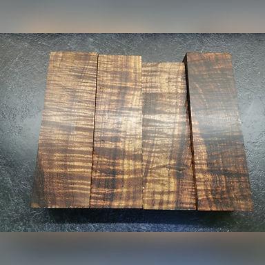 Tasmanian black wood stabilised