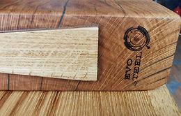 Brown oak/Tiger oak chopping board