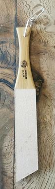 Oak knife honing paddle.