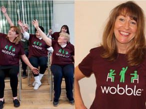 Join Di for free Monday Zoom sessions 'Wobble' 11am or 'Paracise' 10am
