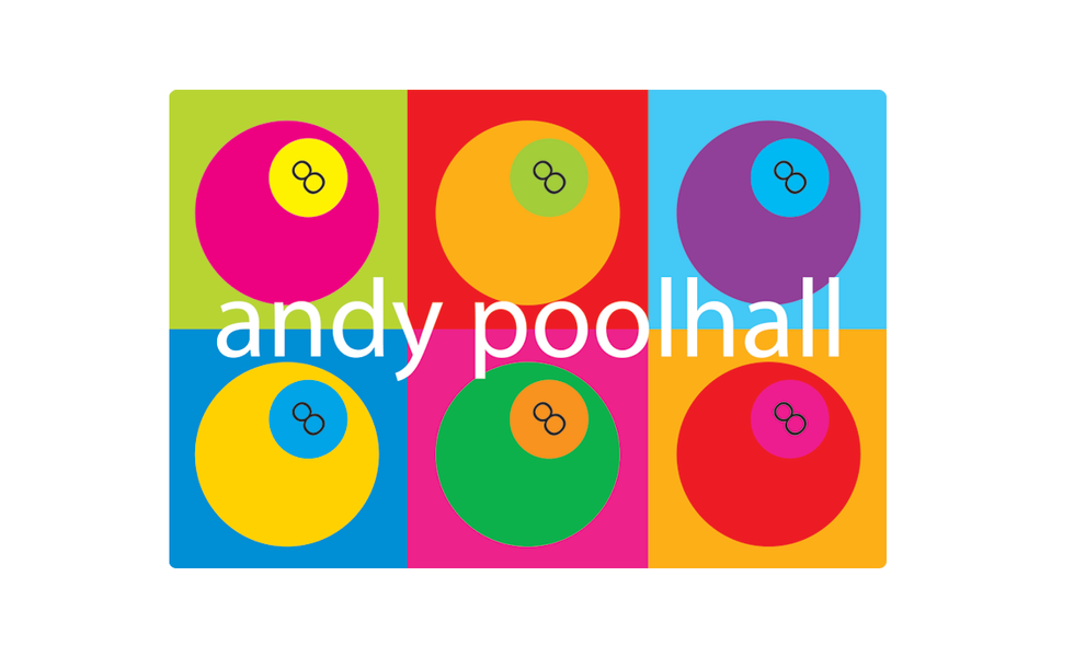 Andy Poolhall sign