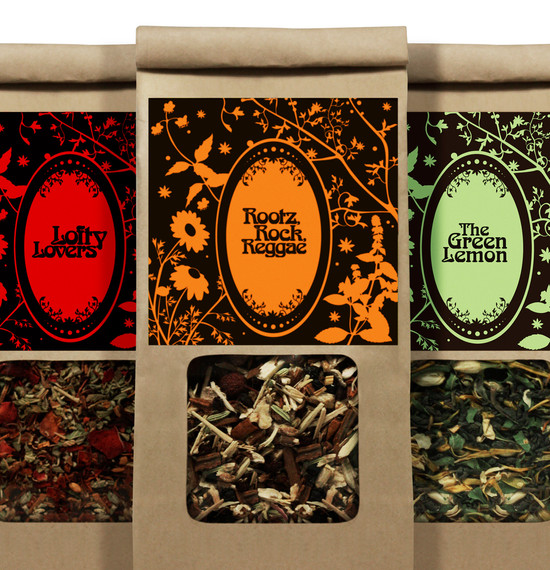 Revive Tea packaging